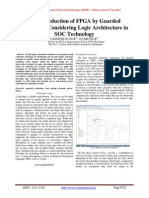 Power Reduction of FPGA by Guarded
