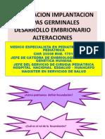 3ra. Clase Implantacion, Cigoto, Capas Germinales