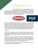 Commercial Kitchen Equipments Manufacturers India | rajalakshmigroup