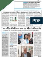 """Gli studenti dell'Istituto """"Mattei"""" stravincono i giochi della chimica - Il Resto del Carlino del 7 giugno 2014"""