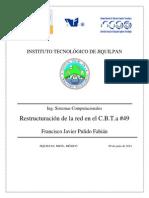 Restructuración de La Red en C.B.T.a #49