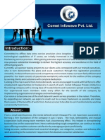 Comet Infowave Pvt Ltd Introduction