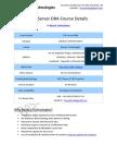 SQL Server DBA Besant Technologies Course Syllabus