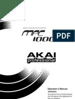 MPC1000 E3 manual