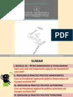 02 Secolul XX Intre Democratie Si Totalitarism. Ideologii Si Practici Politice in Romania Si in Europa
