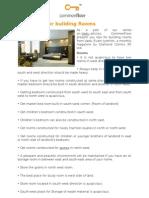Vastu Tips for Building Rooms