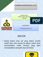 Intoksikasi Karbon Monoksida (Co)