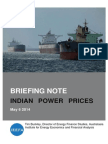 IEEFA Briefing Note IndianElectricityCoalPricing 4 May 2014 (1)