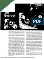 Schrader on Notes on Film Noir