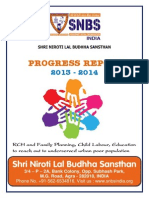 Snbs Ngo Report 2013-2014