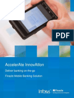 Finacle mobile banking solution