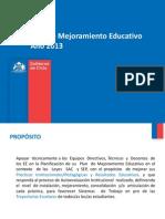 Elaboración PME 08 03 2013