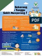 Poster 2 Tentang Pelayanan Yang Dijamin Dan Tidak Dijamin, Sistem Rujukan