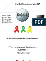 Dell's Corporate Social Responsibility Recommendations