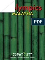 Ecolympics Competition Malaysia Proposal