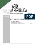 Decreto Legislativo Regional n º 31-A 2013 M