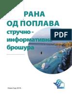 Odbrana Od Poplava Vode Vojvodine