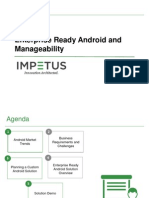 Enterprise Ready Android and Manageability- Impetus Webcast