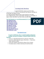 Learning Body Functions