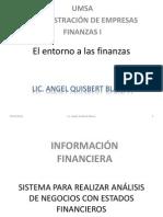 El Entorno a Las Finanzas