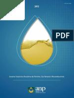 Anuario Estatistico Anp 2012 62398