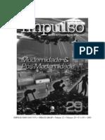 Revista Impulso29 - Modernidade e Pós-modernidade