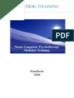 Neuro Linguistic Psychotherapy Modular Training Modules