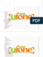 Marketing Report on Ufone
