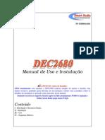 Manual DEC2680