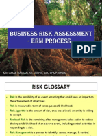 Business Risk Assessment - ERM Process