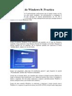 Instalación de Windows 8