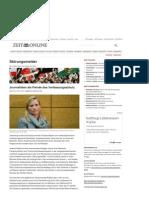 Strahlenfolter Stalking - TI - Wer Ist Verfassungsfeind - Journalisten Als Feinde Des Verfassungsschutz - Blog.zeit.De