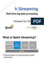 Spark Summit 2013 Spark Streaming 