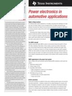 Power Electronics Application