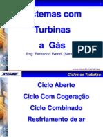 Sistemas Com Turbinas a Gás - Fernando Wendt