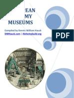 European Alchemy Museums