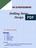Drill String Design