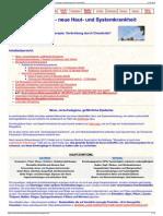 Strahlenfolter Stalking - TI - Morgellons-Haut- Und System-Erkrankung Symptome, Ursachen - Chemtrails-Info.de