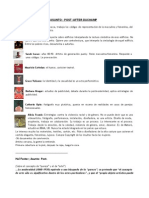 Asunto Post After Duchamp