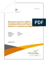 Business Case for a Micro- Combined Heat and Power Fuel-Cell System in Commercial Applications (DOE 2013)