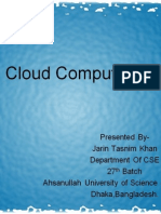 Introducing Cloud Computing