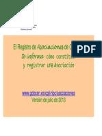 Como Constituir y Registrar Una Asociacixn