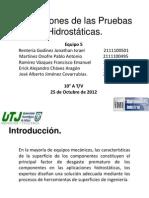 Aplicaciones de Las Pruebas Hidrostc3a1ticas 1 1