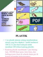 Poster Sampah Plastik