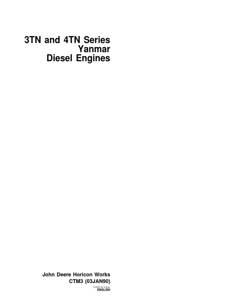 Yanmar Diesel Propulsion Vehicle Parts John Deere 855 Engine Diagram