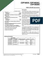 CDP1802 datasheet