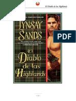 Sands, Lynsay - Highlander 01 - El Diablo de Las Highlands