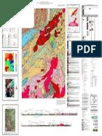 Mapa Geológico Eldorado Paulista