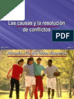 04-Las Causas y La Resolucion de Conflictos