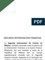 Segunda Intervencion Francesa